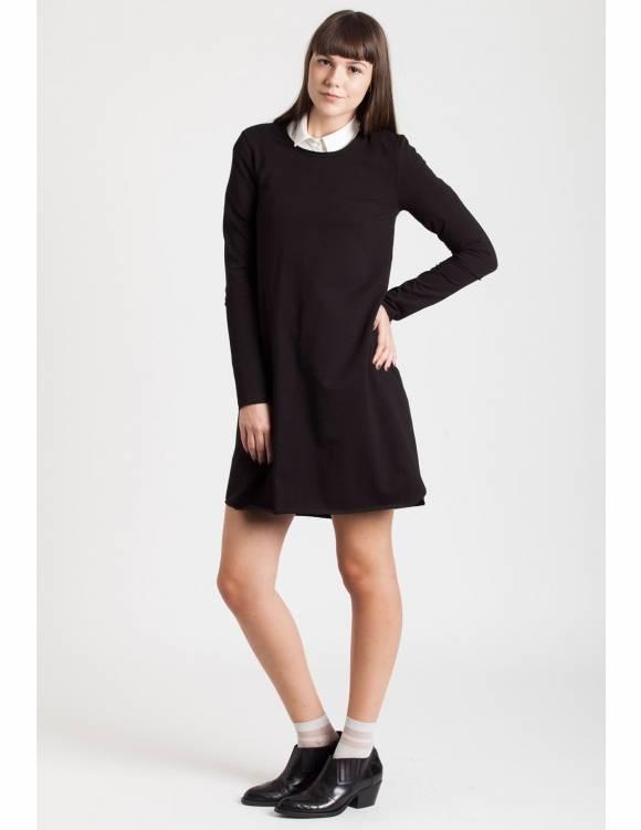 Alef Alef | אלף אלף - בגדי מעצבים | Sample#22 | שמלת Nude שחור