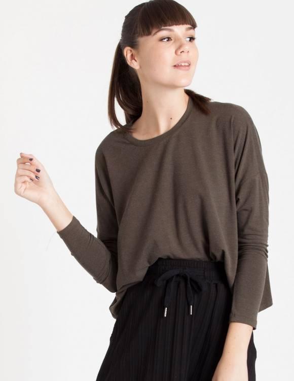Alef Alef | אלף אלף - בגדי מעצבים | Sample#91 | חולצת White זית