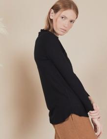 Alef Alef | אלף אלף - בגדי מעצבים | חולצת Susan | שחור