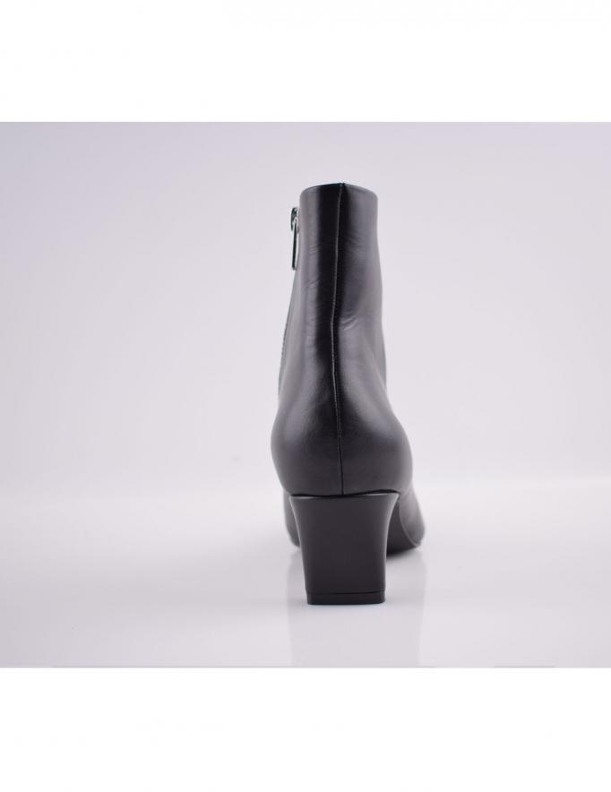 Alef Alef | אלף אלף - בגדי מעצבים | מגפי עור Scottie |  שחור