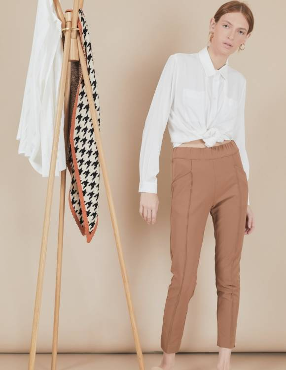 Alef Alef | אלף אלף - בגדי מעצבים | מכנסי Coco | קאמל