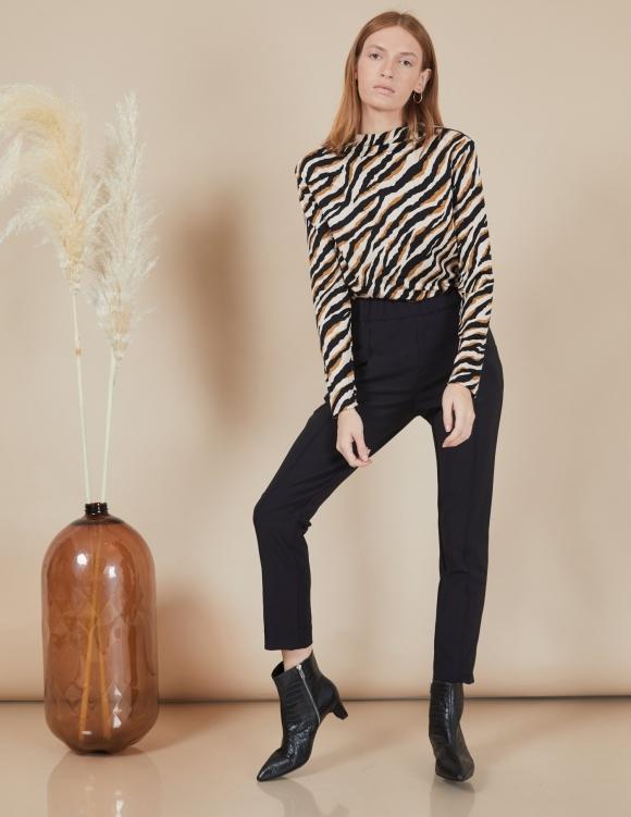 Alef Alef | אלף אלף - בגדי מעצבים | מכנסי Coco | שחור