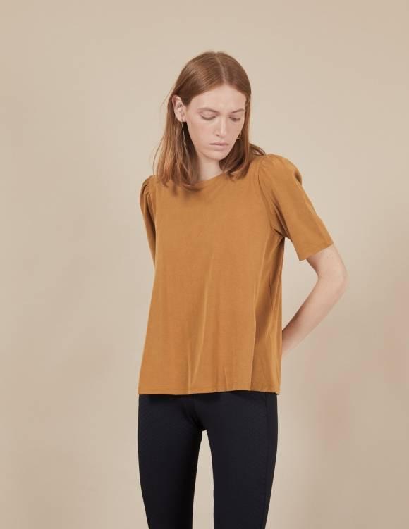 Alef Alef | אלף אלף - בגדי מעצבים | חולצת Diana חרדל