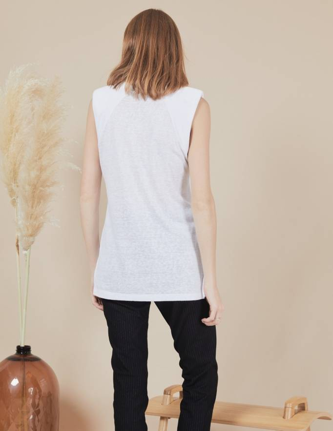 Alef Alef | אלף אלף - בגדי מעצבים | גופית Gal | לבן