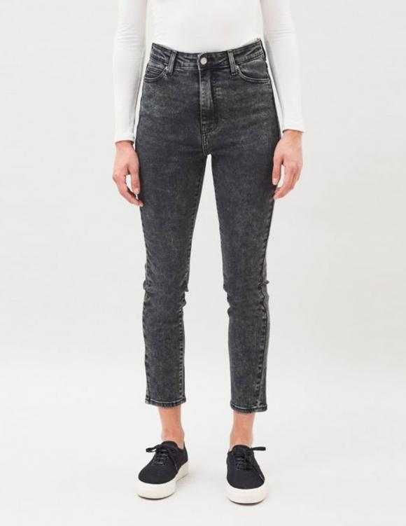 Alef Alef | אלף אלף - בגדי מעצבים | ג'ינס Dr. Denim Cropa Cabana שחור משופשף