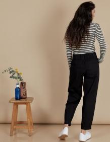 Alef Alef | אלף אלף - בגדי מעצבים | מכנסי Curie שחור