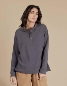 Alef Alef | אלף אלף - בגדי מעצבים | חולצת Greta אפור