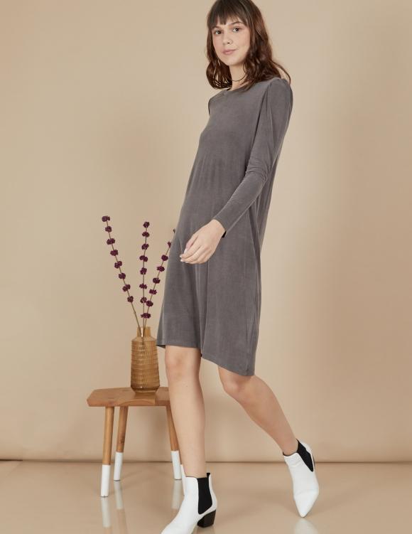 Alef Alef | אלף אלף - בגדי מעצבים | שמלת Josephine אפור