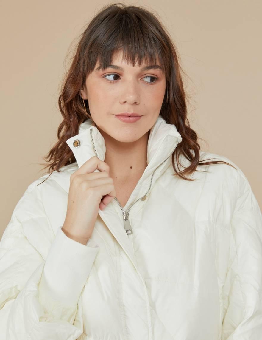 Alef Alef | אלף אלף - בגדי מעצבים | מעיל Elizabeth שמנת