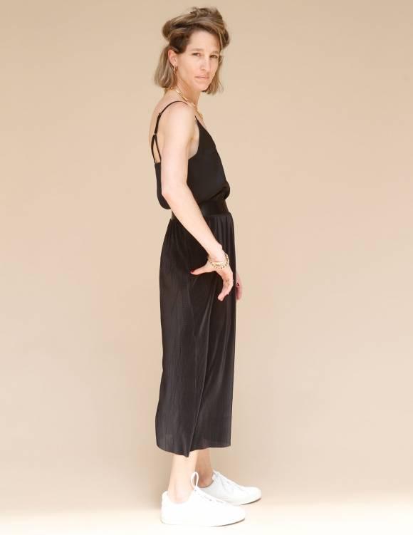 Alef Alef   אלף אלף - בגדי מעצבים   חצאית Rosen שחור