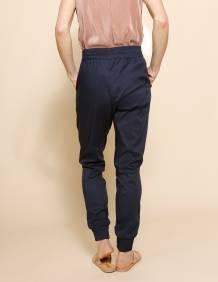 Alef Alef   אלף אלף - בגדי מעצבים   מכנסי Dayan נייבי