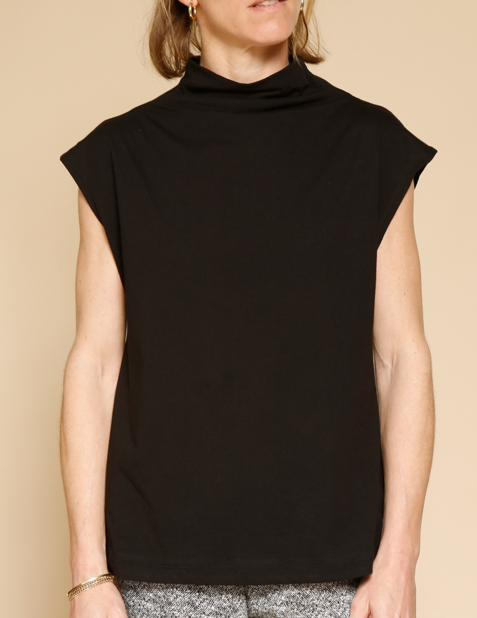 Alef Alef   אלף אלף - בגדי מעצבים   חולצת Eini שחור