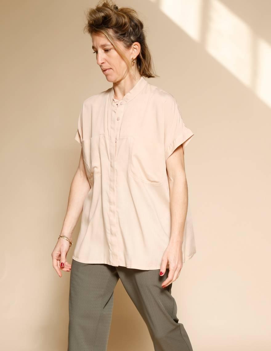 Alef Alef | אלף אלף - בגדי מעצבים | חולצת Mann פודרה