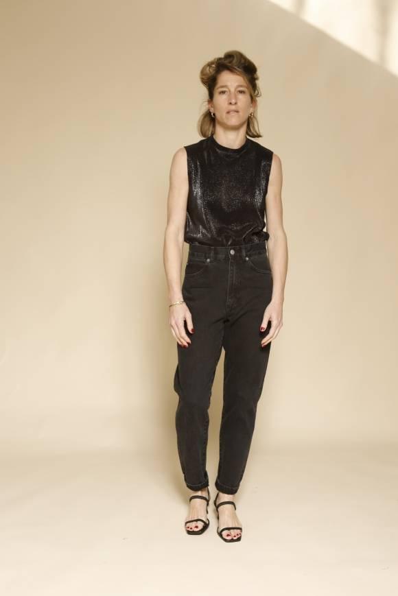 Alef Alef | אלף אלף - בגדי מעצבים | Dr Denim ג'ינס Nora שחור