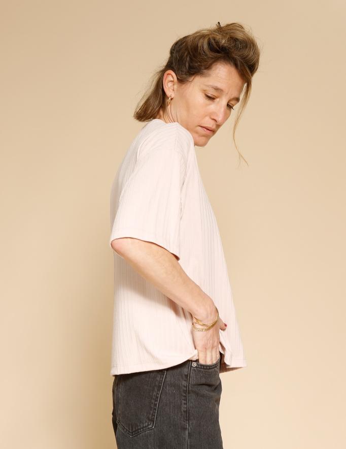 Alef Alef | אלף אלף - בגדי מעצבים | חולצת Miller פודרה