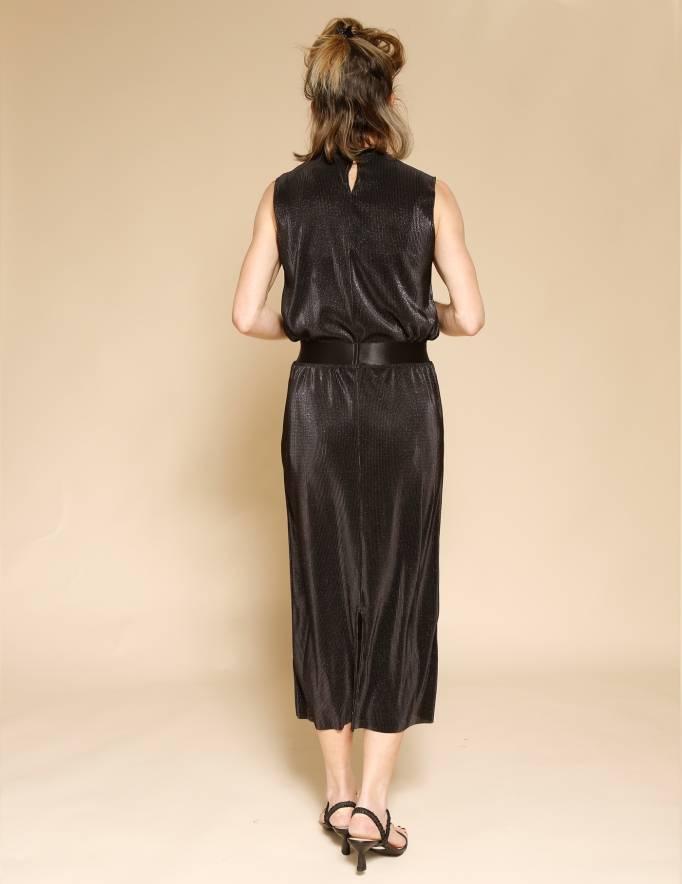 Alef Alef   אלף אלף - בגדי מעצבים   חצאית Rosen שחור נצנץ