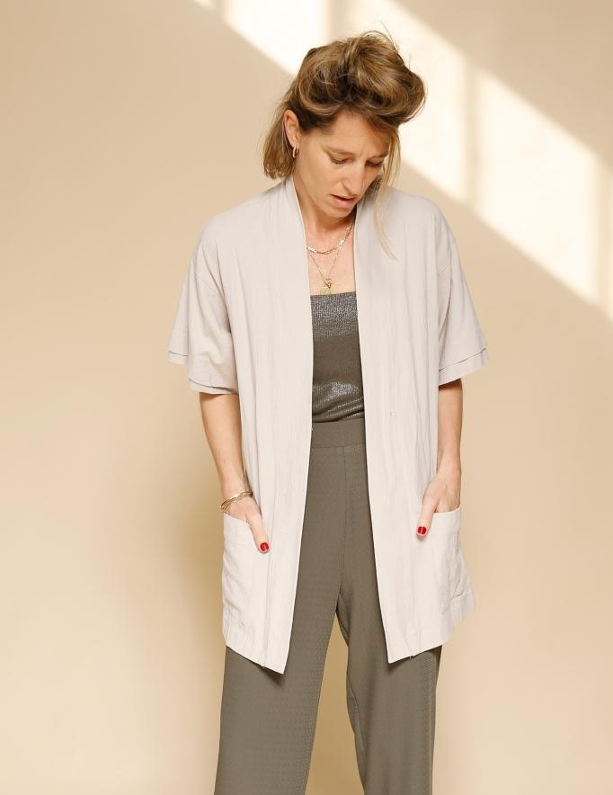 Alef Alef | אלף אלף - בגדי מעצבים | קימונו Shavit אבן